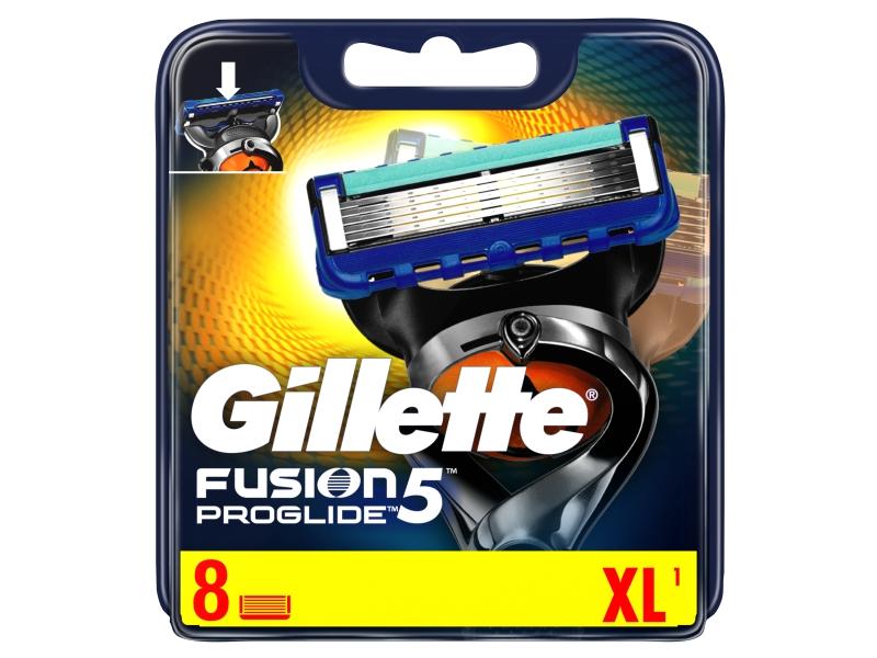 Gillette Fusion5 ProGlide Holicí Hlavice Pro Muže 8ks