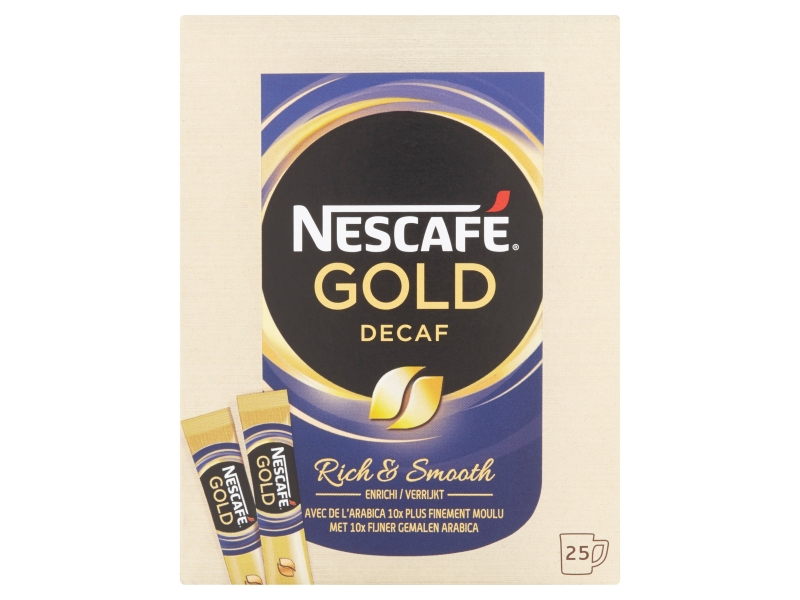 NESCAFÉ Gold Decaf stick Káva bez kofeinu 25 x 2g