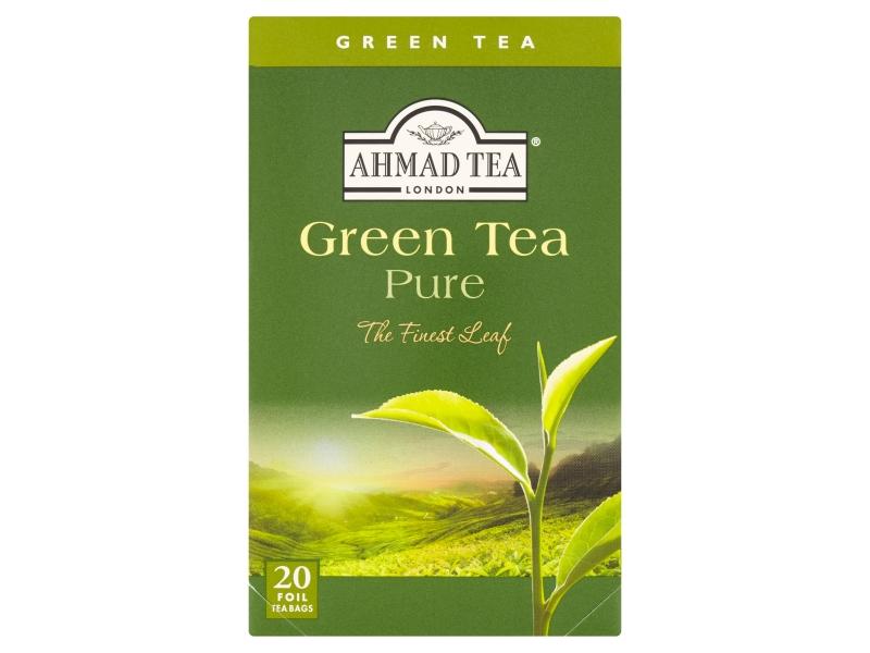 Ahmad Tea Pure zelený čaj 20 x 2g