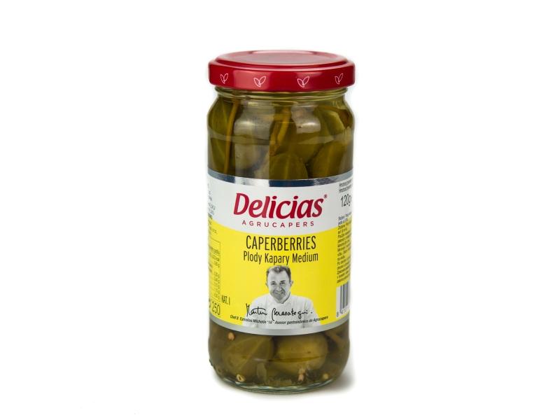 Delicias plody kapary 250g