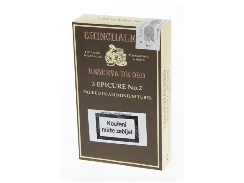 Doutníky Chinchalero Epicure No.2, 3ks