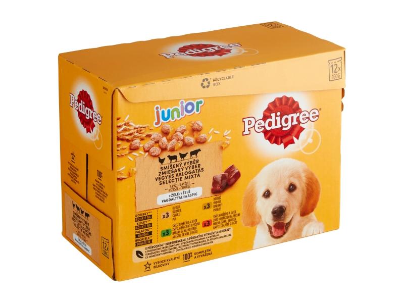 Pedigree Junior Masový výběr v želé 12x100g