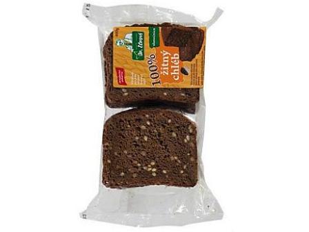 Hradecká pekárna Chléb žitný balený krájený 400g