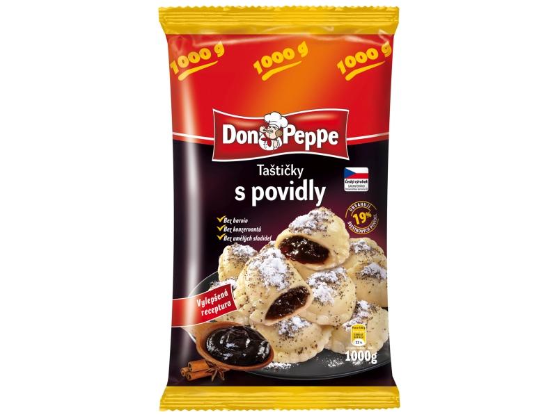 Don Peppe Taštičky s povidly mraž. 1kg