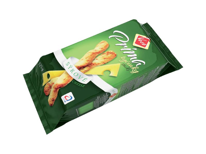 Vest Prima tyčinky sýrové 125g