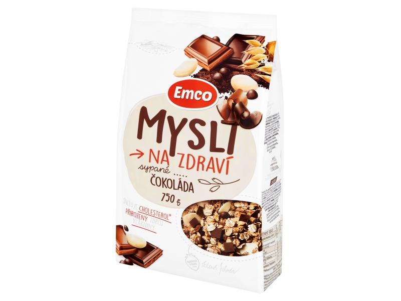 Emco Mysli na Zdraví Sypané Čokoláda 750g