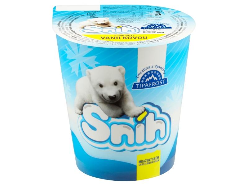 Tipafrost Sníh s příchutí vanilkovou 350ml