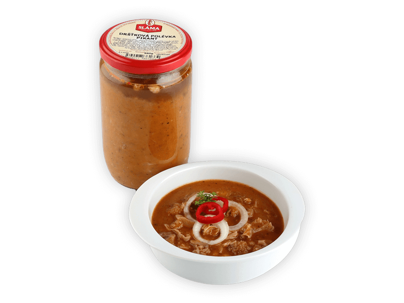 Sláma Dršťková polévka pikant ve skle 650g