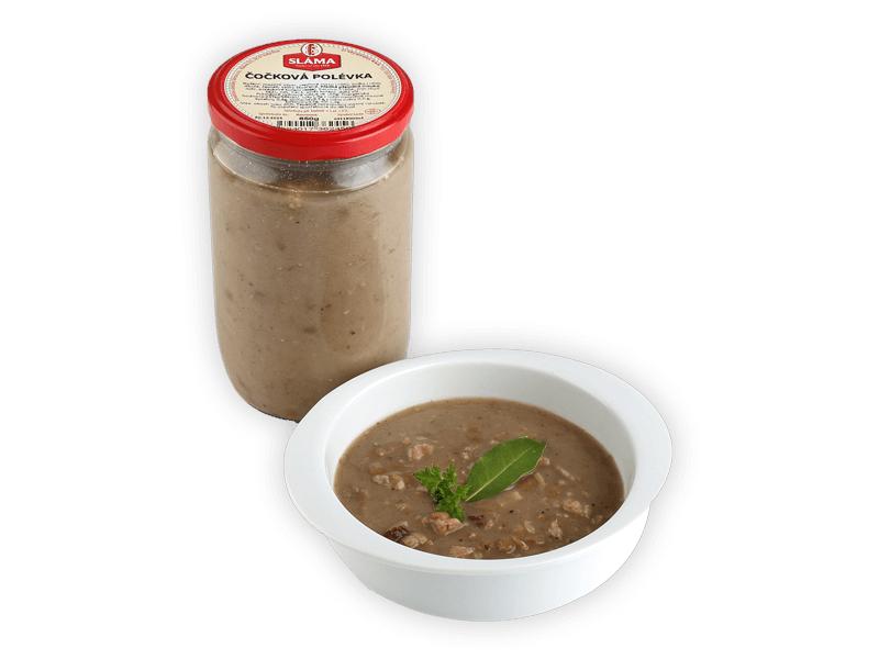 Sláma Čočková polévka ve skle 650g