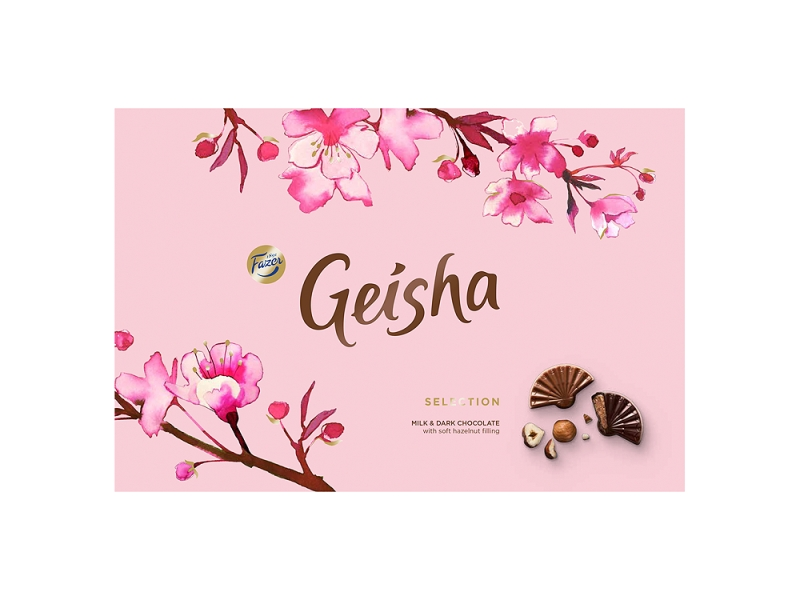 Fazer Geisha Mléčné a hořké čokoládové bonbony 200g