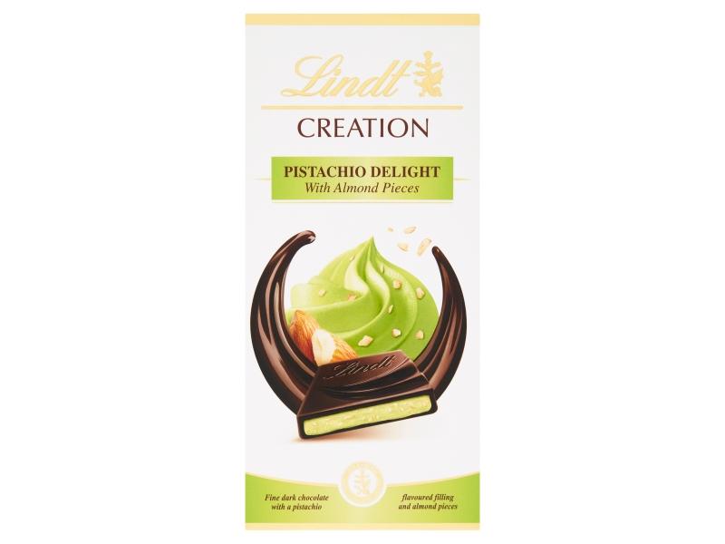Lindt Creation Plněná hořká čokoláda Pistachio Delight 150g