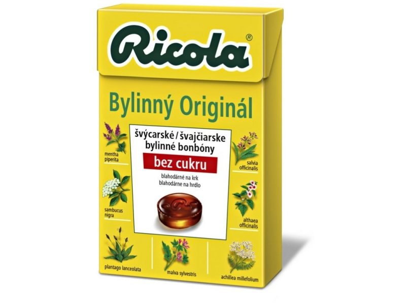 Ricola Bylinný originál drops 40g