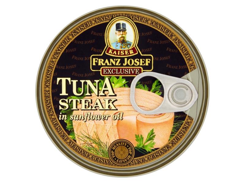 Franz Josef Tuňák steak v oleji 170g