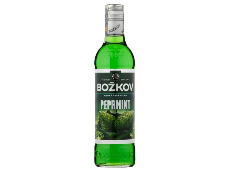 Božkov Peprmint Likér 19% 0,5l
