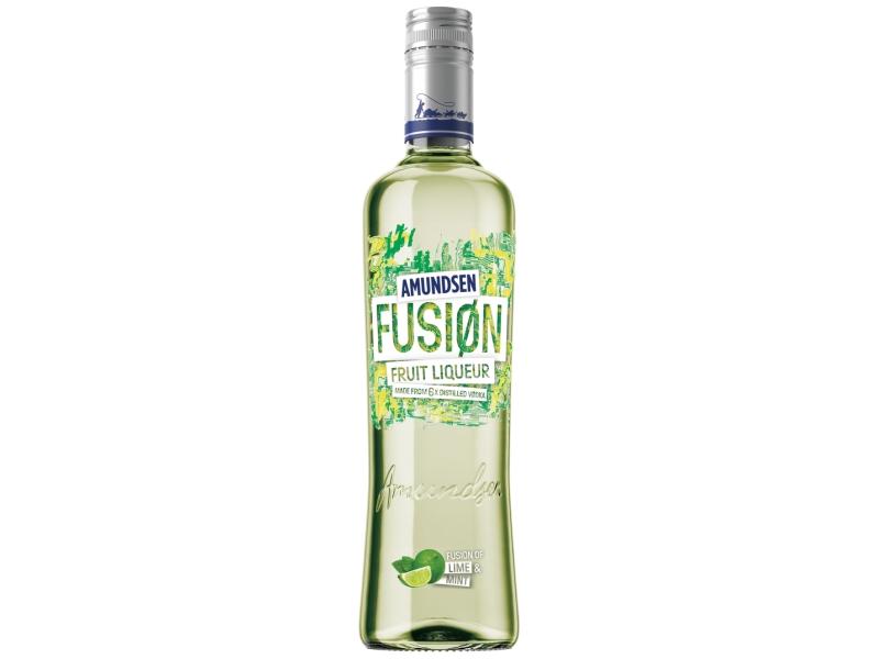 Amundsen Fusion Lime & Mint ovocný likér 15% 500ml