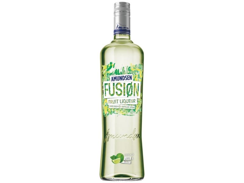 Amundsen Fusion Lime & Mint ovocný likér 15% 1L