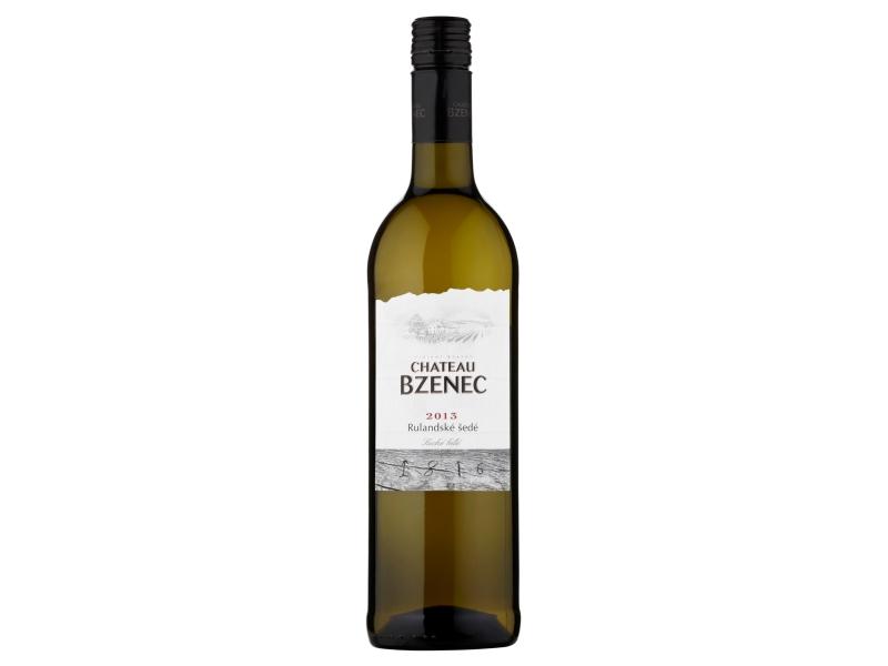 Chateau Bzenec Rulandské šedé, suché bílé víno 0,75l