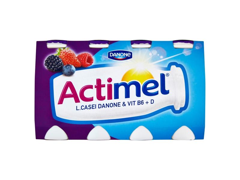 Danone Actimel Jogurtové mléko s lesními plody 8x100g