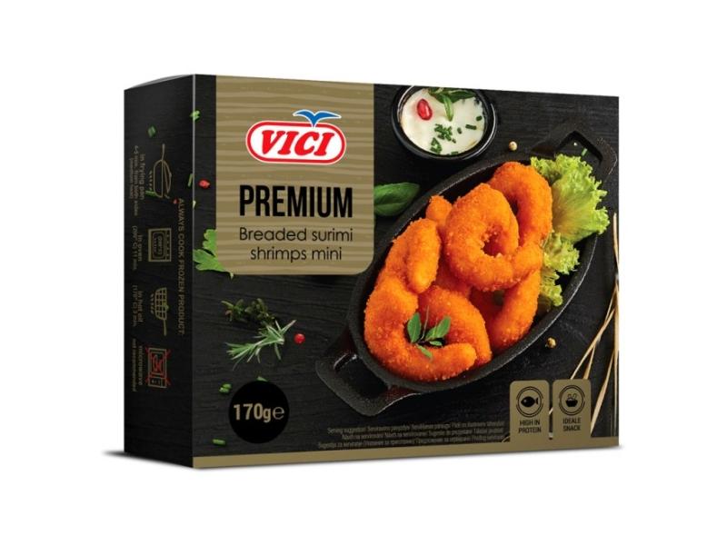 Vici Premium Surimi Krevety obalované 170g