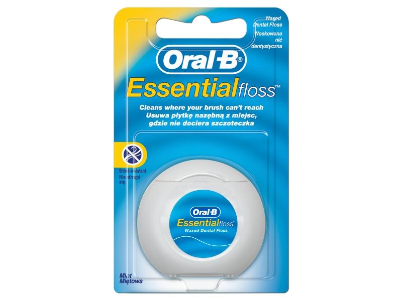 Oral-B Essential Zubní Nit, Mátová, 50m