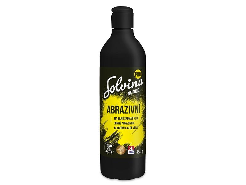 Solvina Pro Abrazivní tekutá mycí pasta na ruce 450g