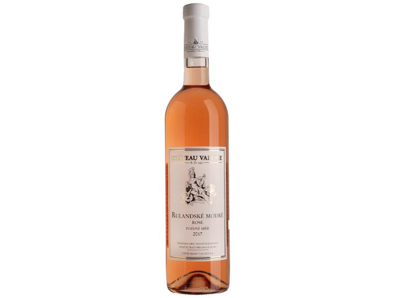Château Valtice Rulandské modré rosé pozdní sběr polosuché růžové víno 0,75l