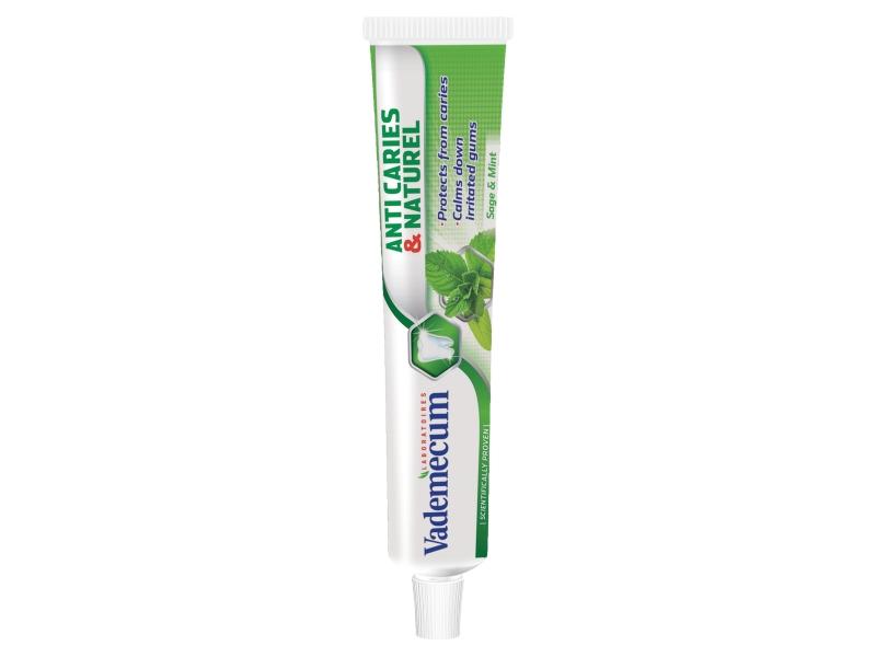 Vademecum Anti Caries & Naturel Zubní pasta 75ml