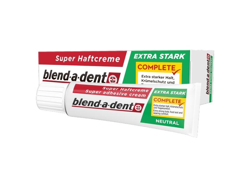 Blend-a-dent Complete Fixační Krém Na Zubní Náhradu 47 g, Neutral
