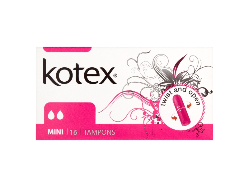 Kotex Mini tampóny 16ks
