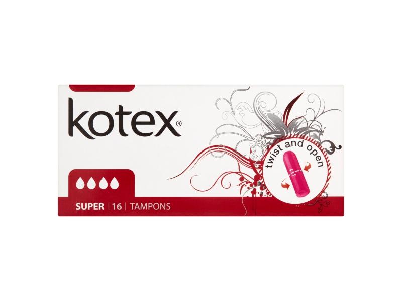 Kotex Super tampóny 16ks