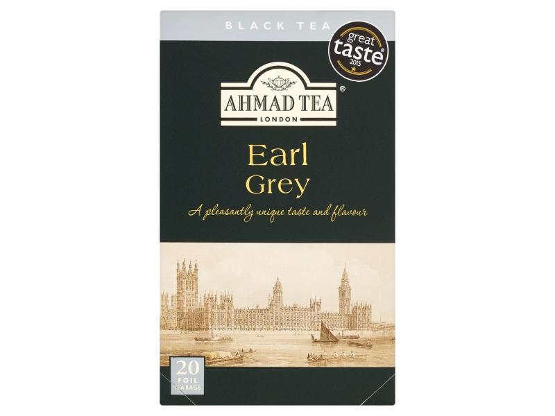 Ahmad Tea Earl Grey černý čaj 20 x 2g