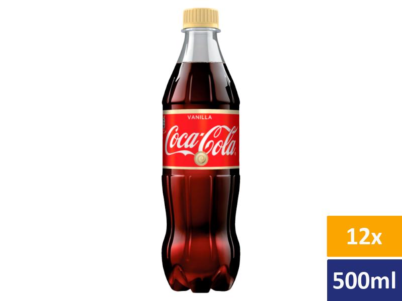 Coca Cola Vanilla 12x 500ml, PET