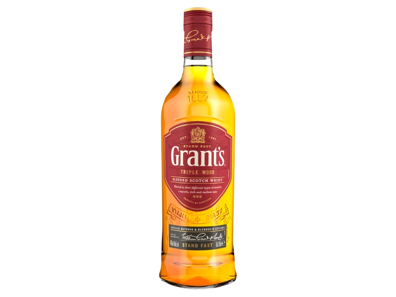 Grant´s Triple Wood whisky 40%, 700ml