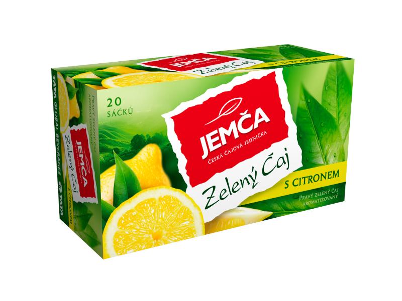 Jemča Zelený čaj s citronem 30g