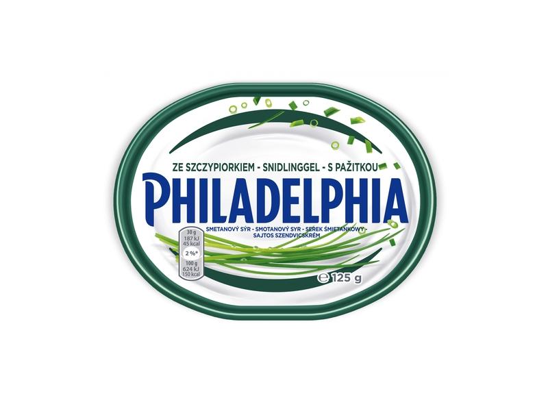 Philadelphia sýr s pažitkou 125g