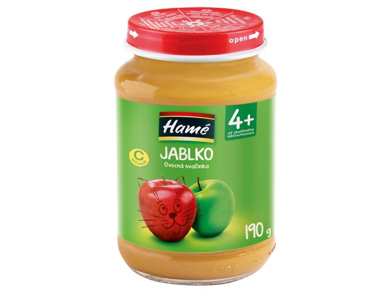 Cvrček Kojenecká výživa jablko 190g
