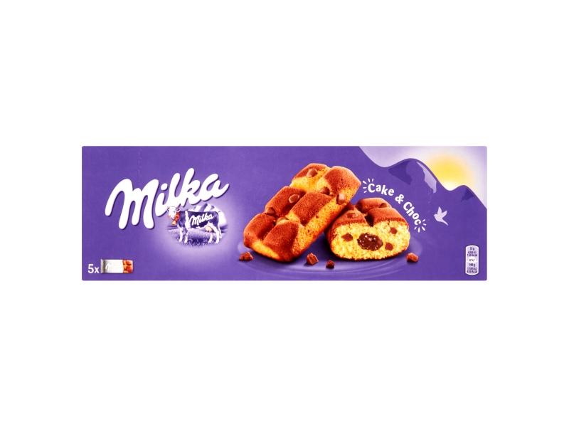 Milka Cake and Choc s kousky mléčné čokolády 175g