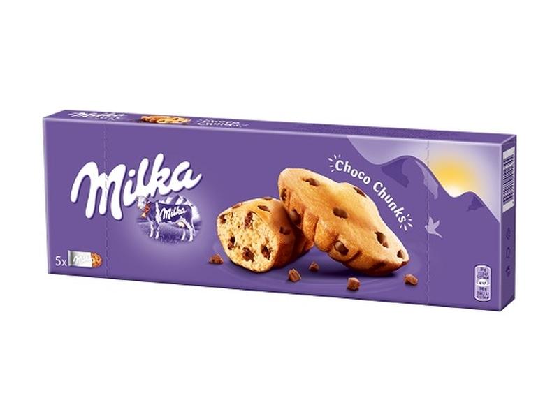 Milka Choco Tender Cow s kousky mléčné čokolády 140g