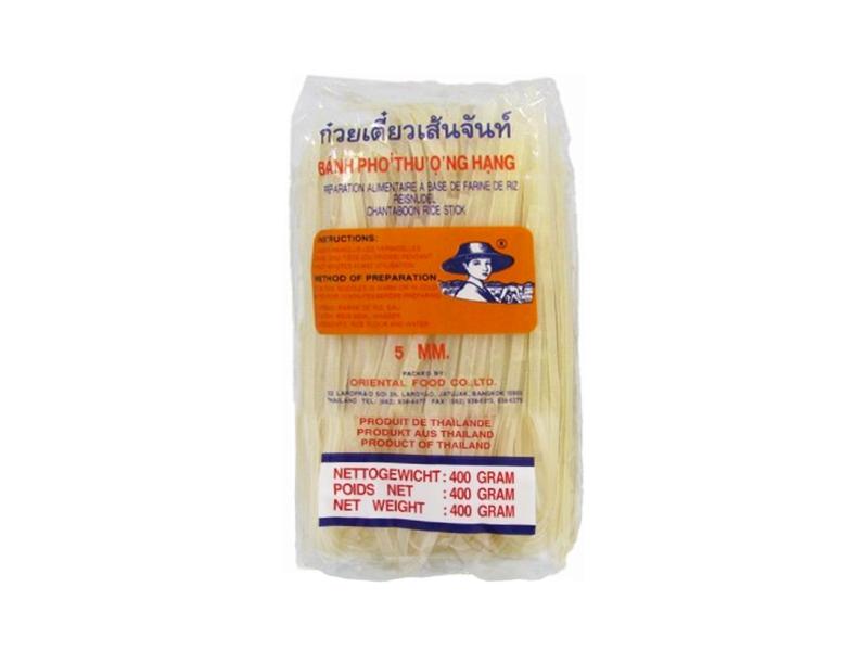 Rýžové nudle široké 5mm 400g