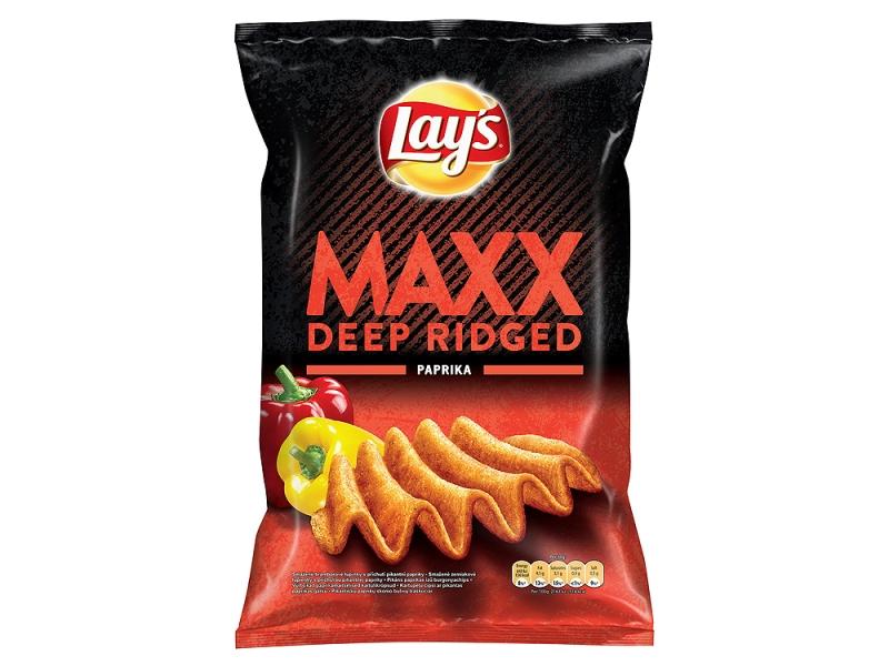 Lay´s Maxx Chipsy s příchutí pikantní papriky 130g