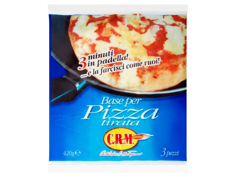 C.R.M. Korpus na pizzu 3x140g