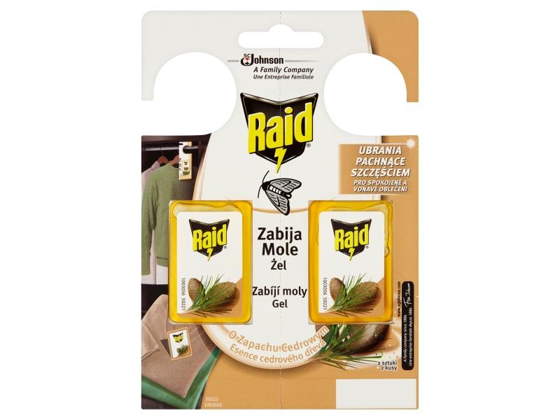 Raid Proti molům gel cedr 2 x 3g