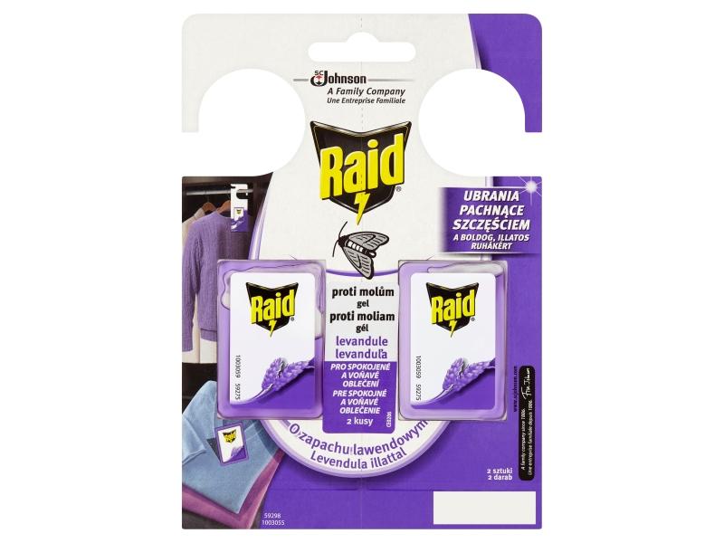 Raid Proti molům gel levandule 2 x 3g