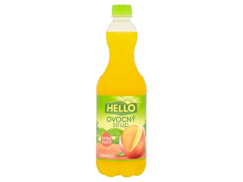 Hello Ovocný sirup mango 0,7l