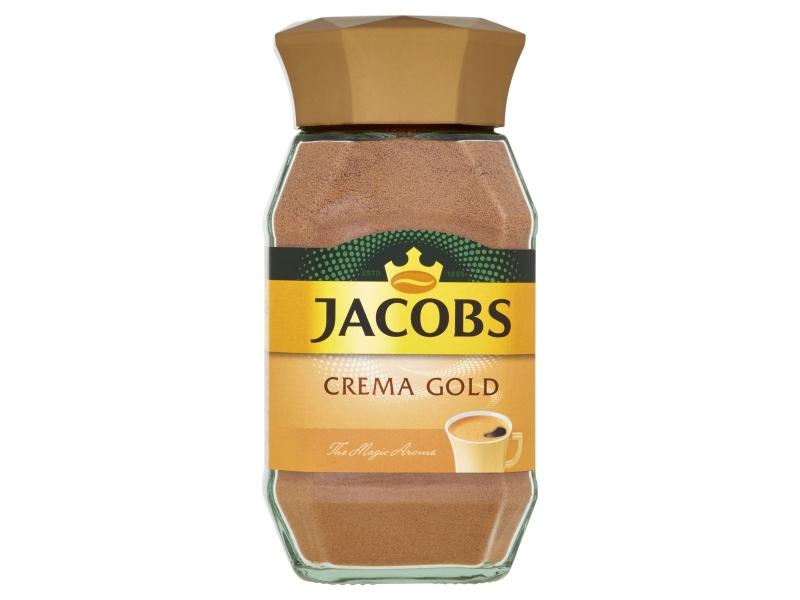Jacobs Crema Gold rozpustná káva 100g