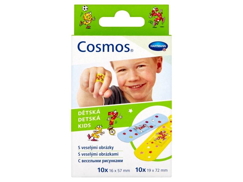 Cosmos Dětská náplast (2 velikosti) 20 ks