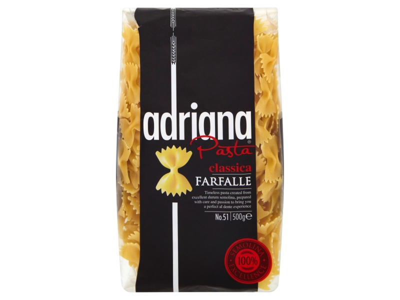 Adriana Farfalle Těstoviny semolinové 500g