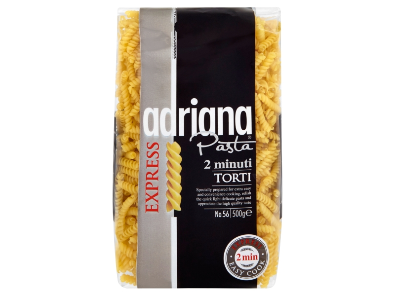 Adriana 2 minuti Torti Těstoviny semolinové 500g