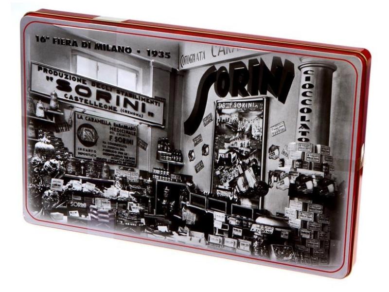 Sorini Latta 1935 bonboniéra 400g