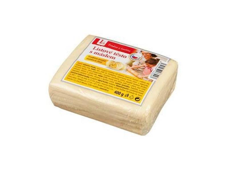 Lef Listové těsto s máslem 400g